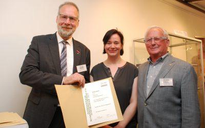 Preisträgerin Internationaler Bucheinbandwettbewerb
